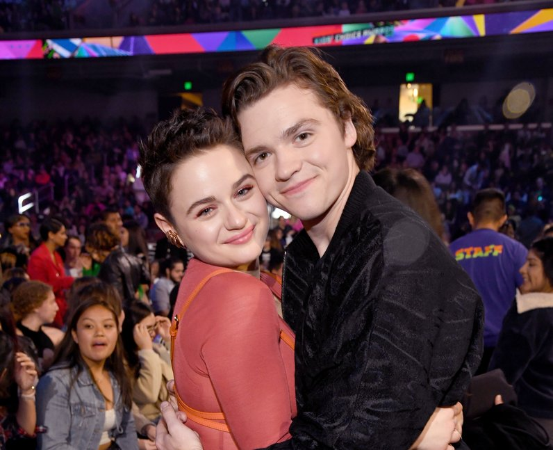 Joey King and Joel Courtney at Kids Choice Awards