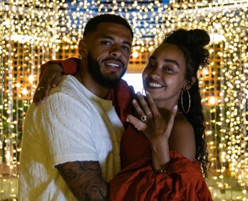 Leigh-Anne Pinnock Andre Gray engaged