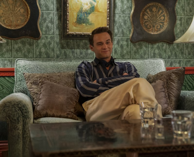 Brandon Flynn as Henry Osgood in Ratched