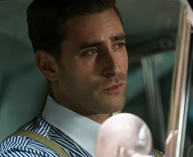 Oliver Jackson-Cohen plays Peter Quint in Haunting