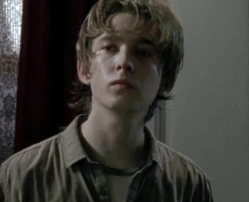 Austin Abrams as Ron Anderson in The Walking Dead