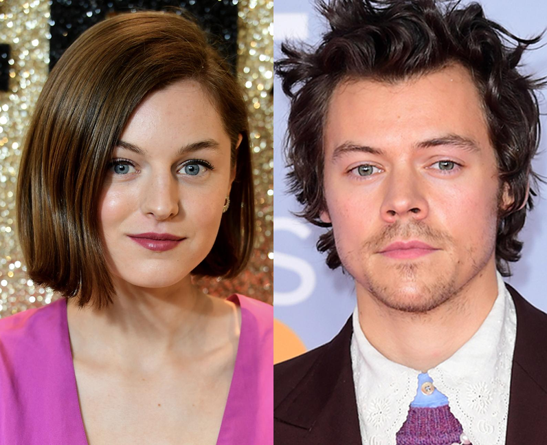 How did Emma Corrin and Harry Styles become friend