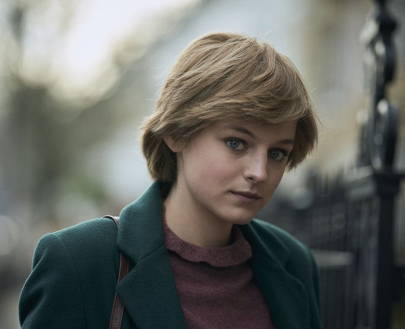 Who plays Princess Diana in The Crown?