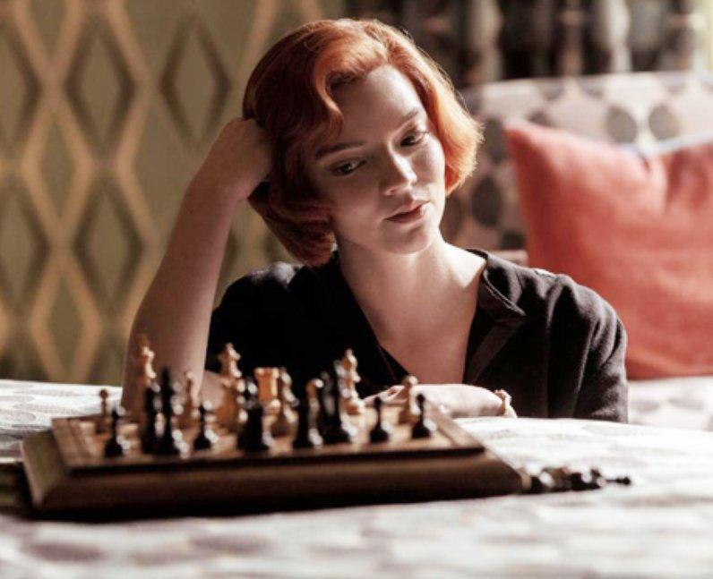 Anya Taylor-Joy chess