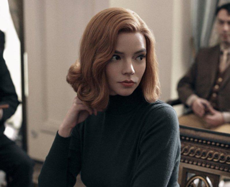 Anya Taylor-Joy The Queen's Gambit Beth actress