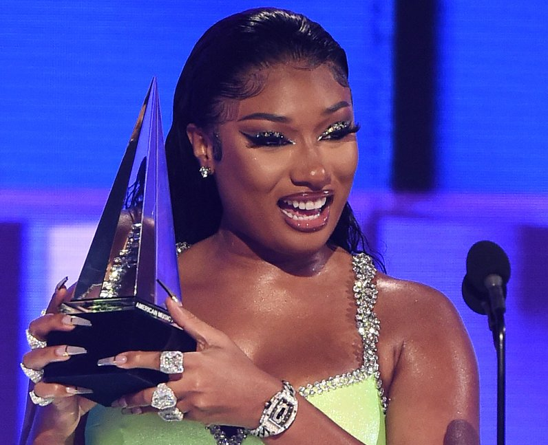 Megan Thee Stallion earns 4 Grammy nominations