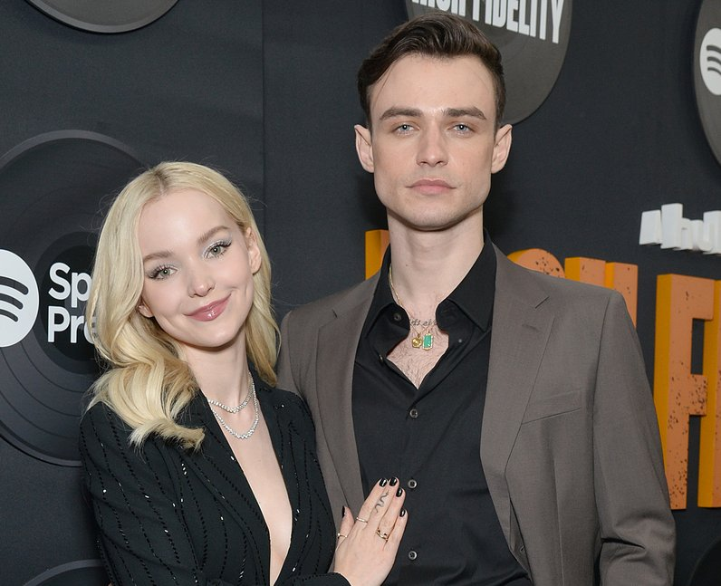Why did Dove Cameron and Thomas Doherty break up?