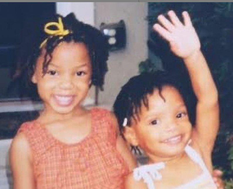 Chloe Bailey Halle twins