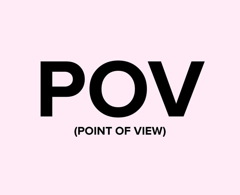 What does POV mean on TikTok?