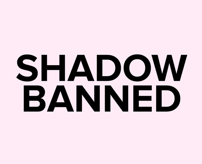 What does Shadowbanned mean on TikTok?