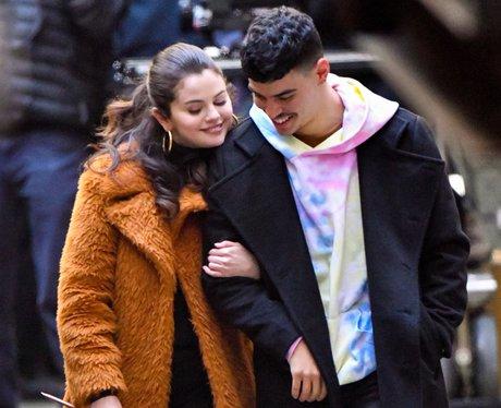 Selena Gomez Aaron Dominguez dating