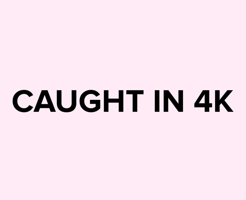 What does caught in 4k mean on TikTok?