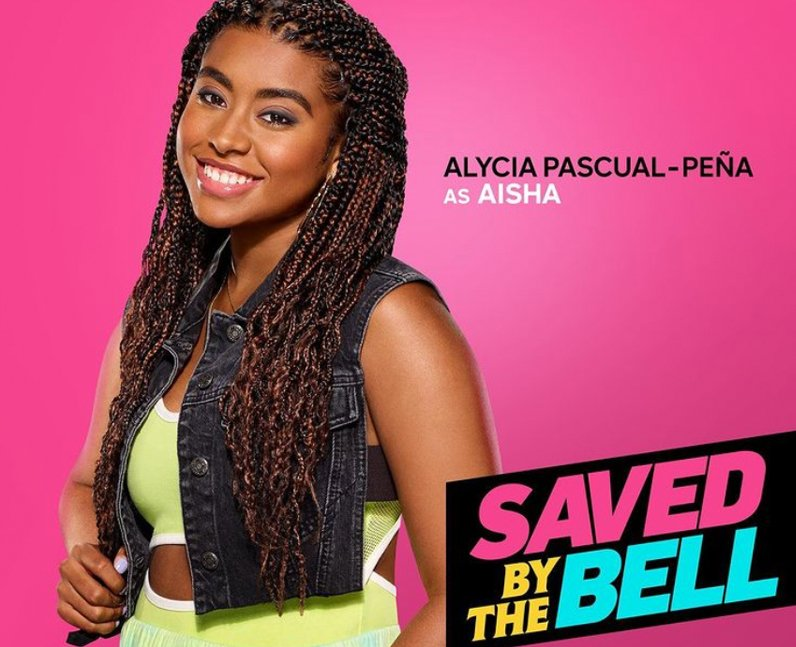 Alycia Pascual-Peña Saved by the Bell Aisha