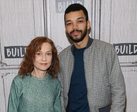 Justice Smith plays Isabelle Hupert Lucas Hedges