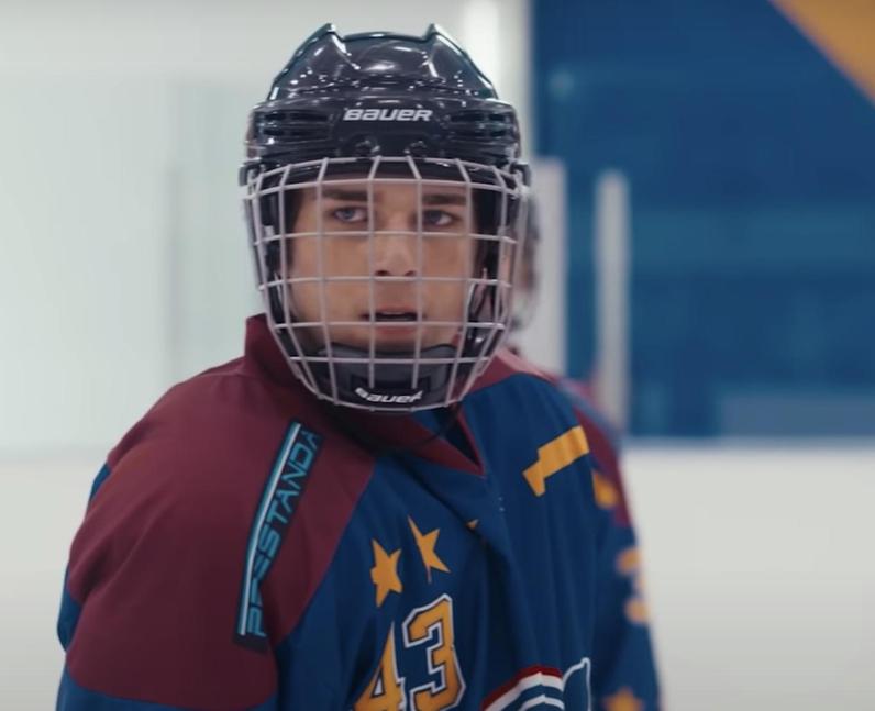 Can Dakota Taylor ice skate in real life?