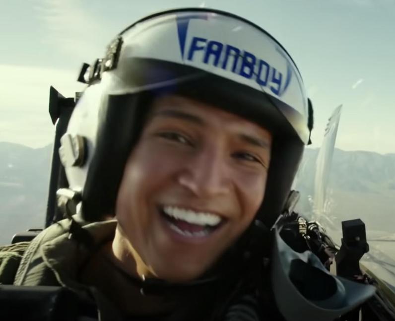 Danny Ramirez will play 'Fanboy' in Top Gun: Maver