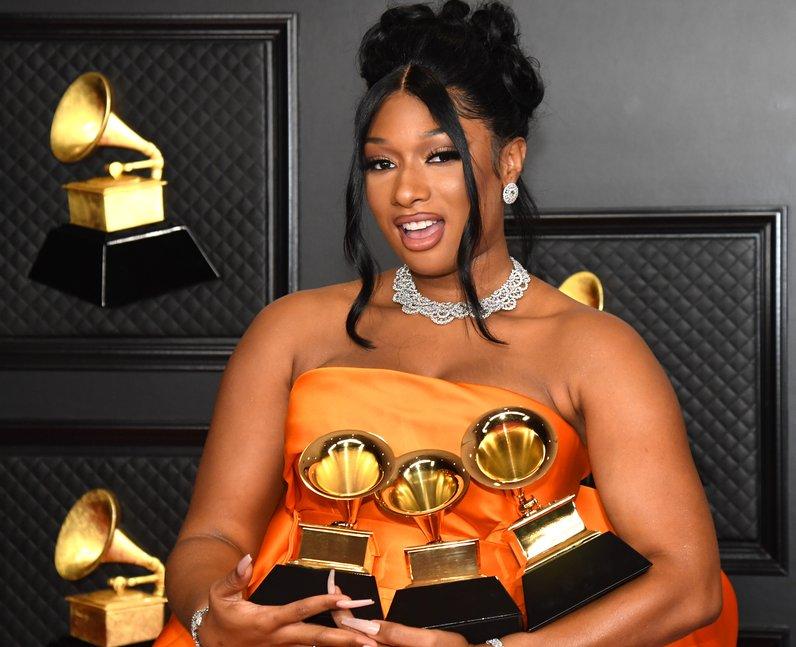 Megan Thee Stallion Grammy Awards 2021 winners