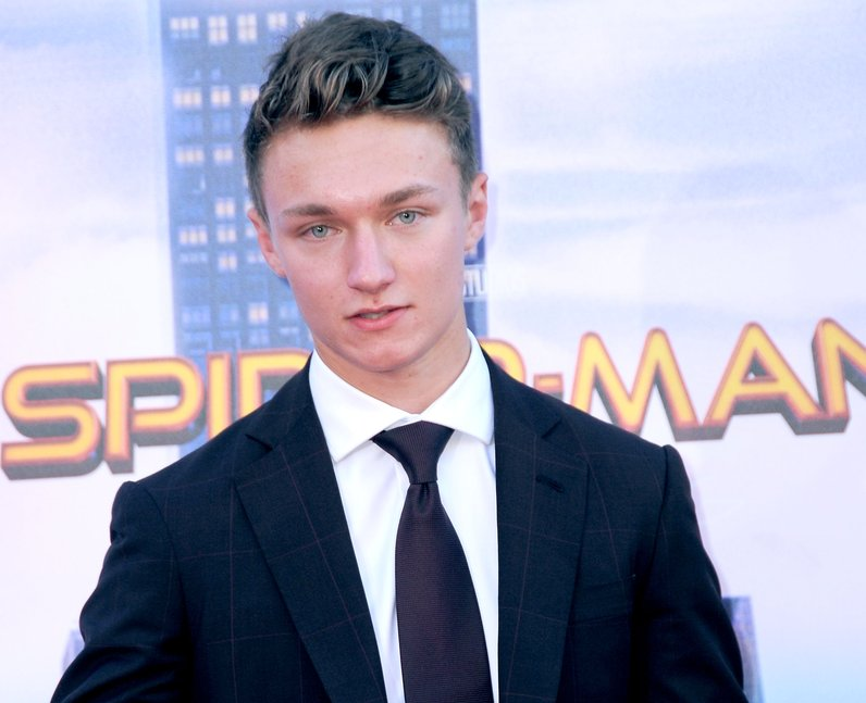 Who does Harrison Osterfield play in SpiderMan Hom