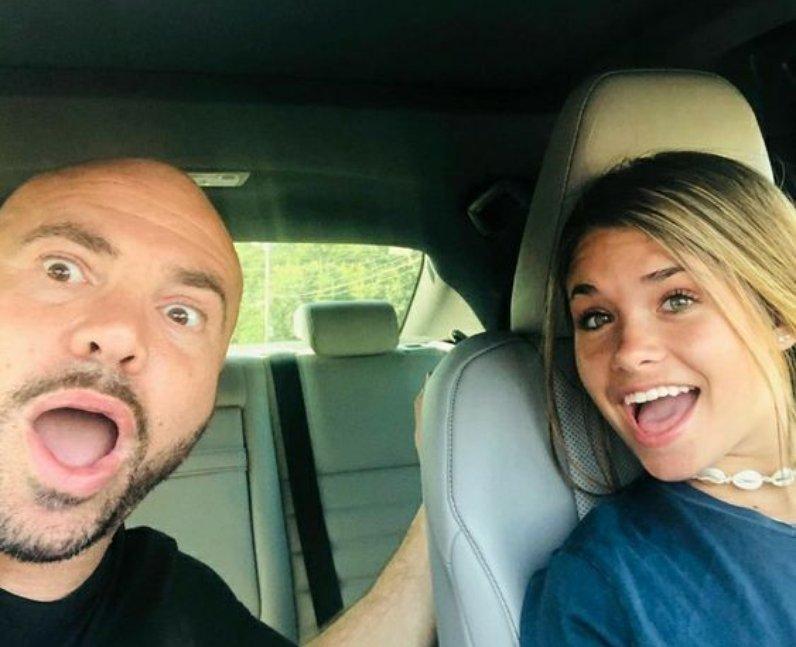 Who is Nessa Barrett's dad?