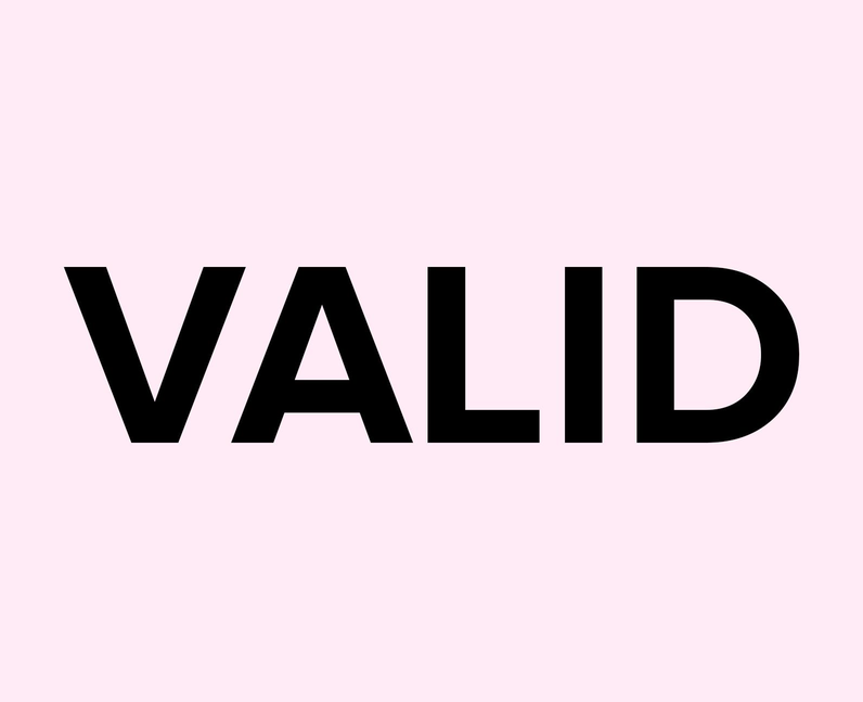 What does Valid mean on TikTok?