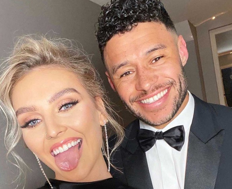 Perrie Edwards Alex Oxlade-Chamberlain engaged