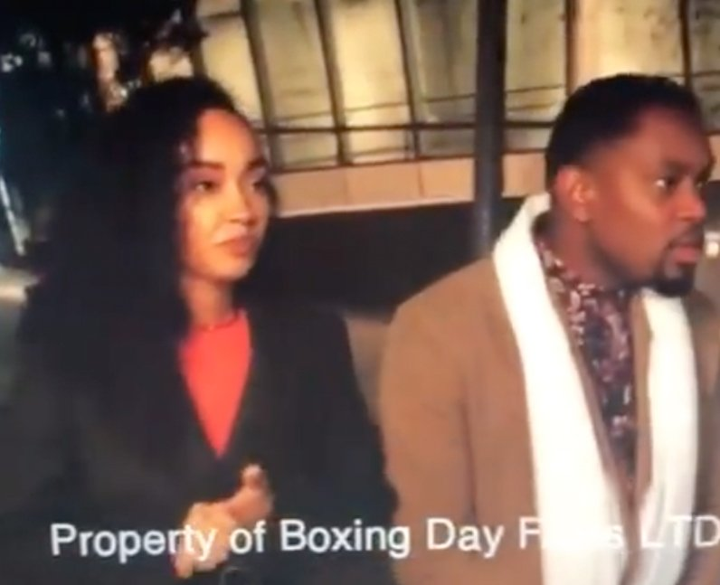 Leigh-Anne Pinnock Boxing Day actress