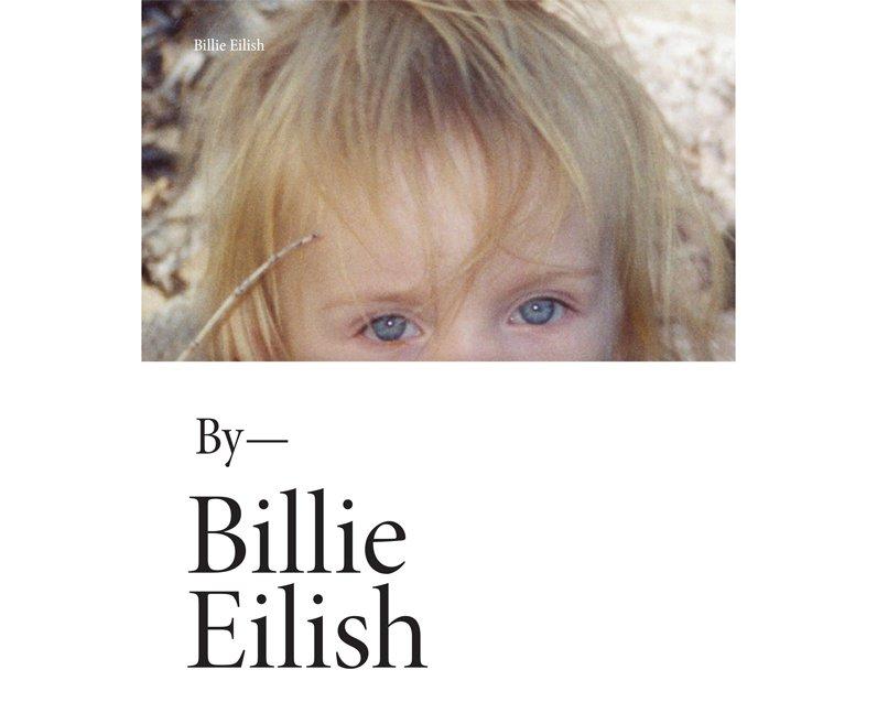 Billie Eilish book about what