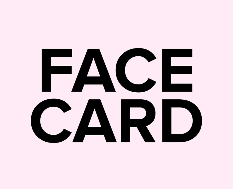 What does Face Card mean on TikTok?