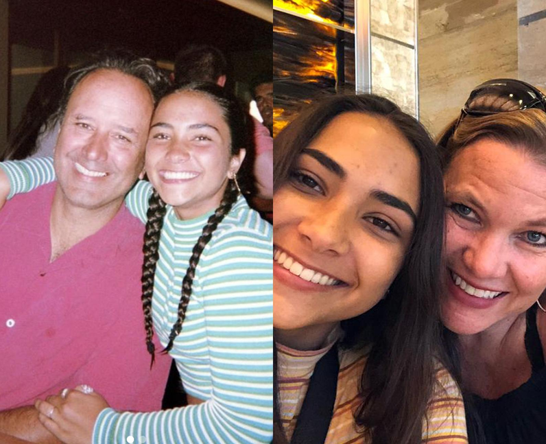 Who are Sienna Mar Gomez's parents?