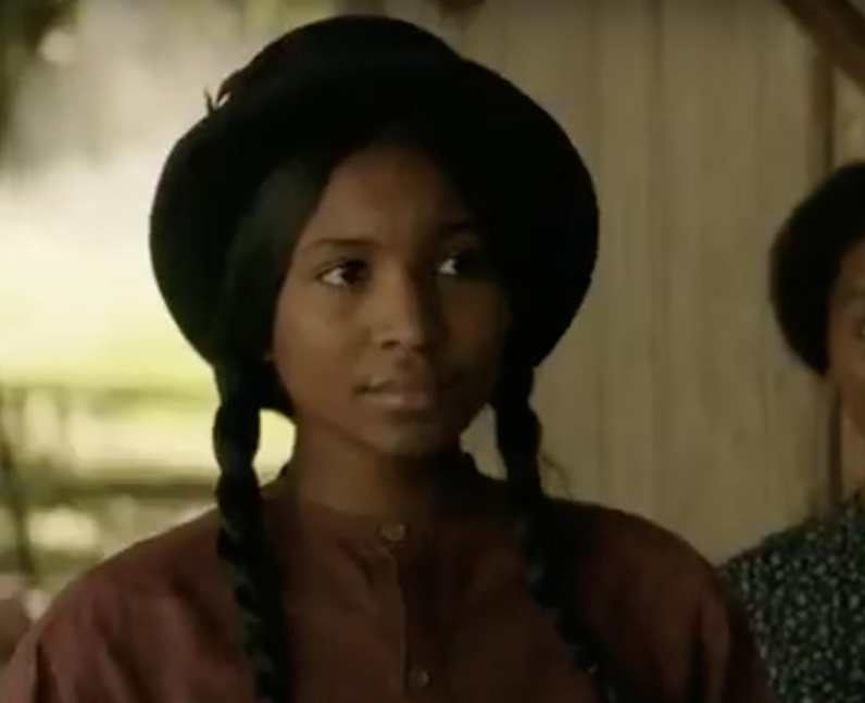 Who did Carlacia Grant play in Roots?