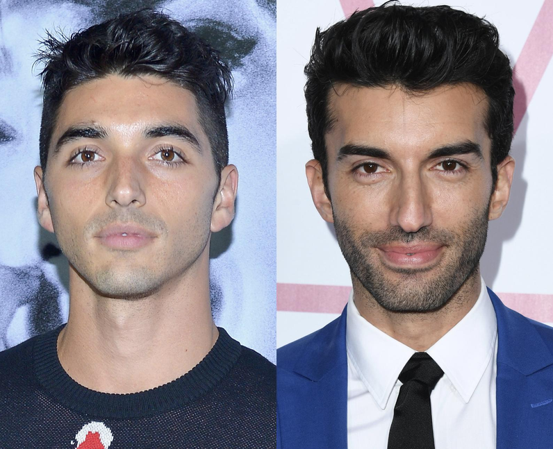 Are Taylor Zakhar Perez and Justin Baldoni related