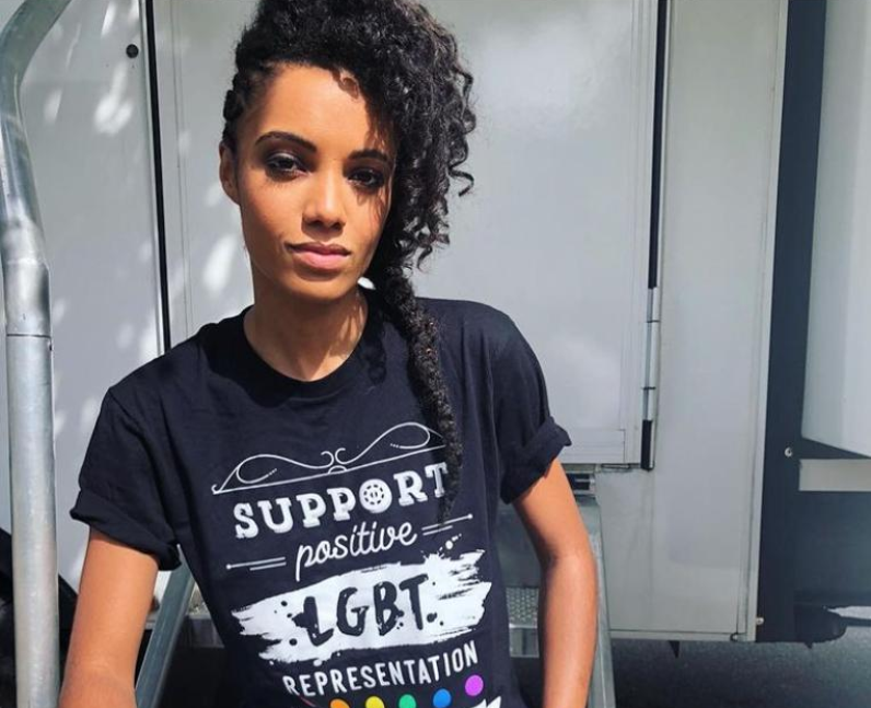Maisie Richardson-Sellers sexuality: queer