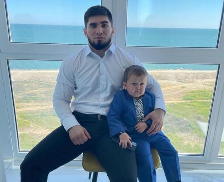 Hasbulla Magomedov and Khabib Nurmagomedov related