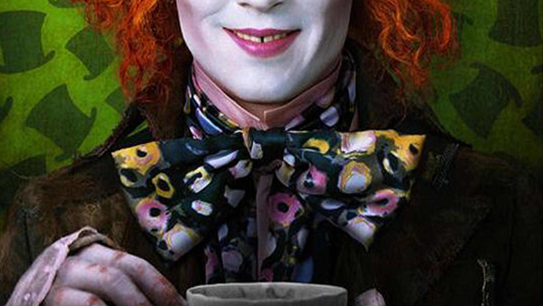 Jack Skellington in Alice in Wonderland