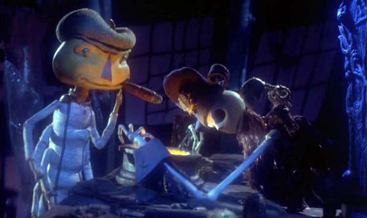 Jack Skellington in James and the Giant Peach